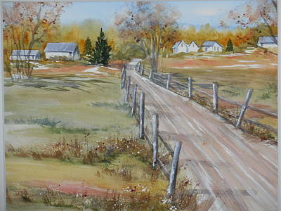 Lowcountry Road In Spring Poster