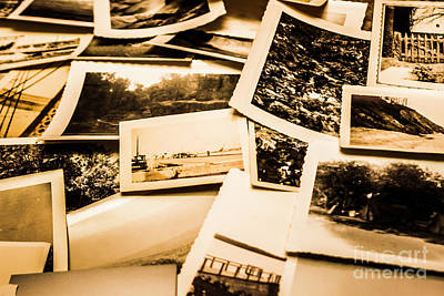 Lowdown On A Vintage Photo Collections Poster by Jorgo Photography - Wall Art Gallery
