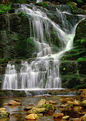 Lower Buttermilk Falls Poster by Raymond Salani III