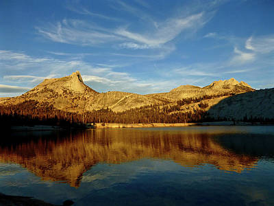 Lower Cathedral Lake Late Afternoon Poster