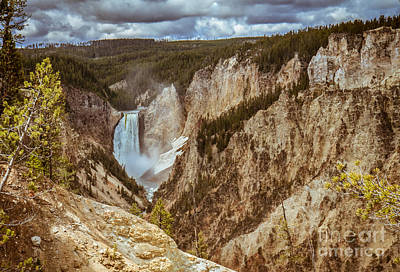 Lower Falls Framed Poster