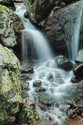 Lower Mina Sauk Falls 1 Poster by Greg Matchick