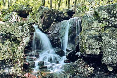 Lower Mina Sauk Falls 2 Poster by Greg Matchick