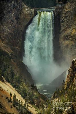 Lower Waterfalls Poster