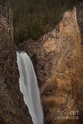 Lower Yellowstone Waterall Poster