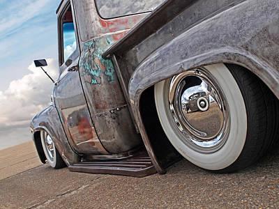 Lowrider - F100 Rear Poster by Gill Billington