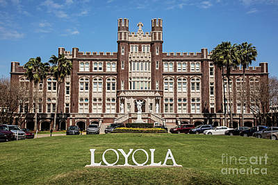 Loyola University New Orleans Poster