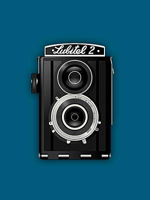 Lubitel 2 Vintage Camera Collection Poster by Marvin Blaine