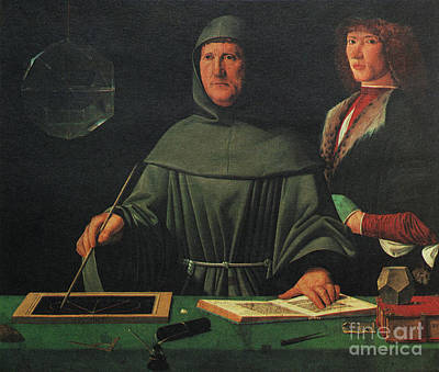 Luca Pacioli, Franciscan Friar Poster by Science Source
