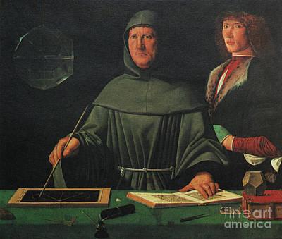 Luca Pacioli, Franciscan Friar Poster