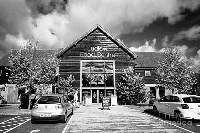 Ludlow Food Centre Shropshire England Poster