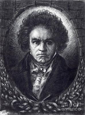 Ludwig Van Beethoven, German Composer Poster by Science Source