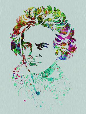Ludwig Van Beethoven Poster by Naxart Studio