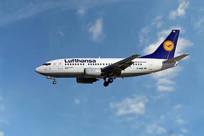 Lufthansa Boeing 737-530  Poster
