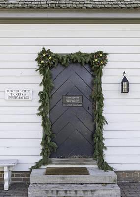 Lumber House Door Poster