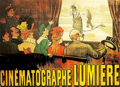 Lumiere Cinematographe Poster by Georgia Fowler