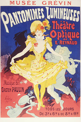 Luminous Pantomimes, The Optical Theater Of E. Rey Poster