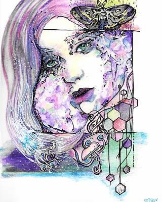 Luna Poster by Ash Stiller