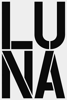 Luna Poster by Three Dots