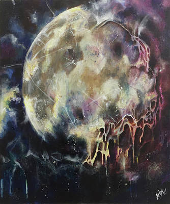 Lunar Transformation Poster by Amy Williams