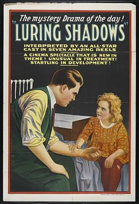 Luring Shadows 1920 Poster by Mountain Dreams