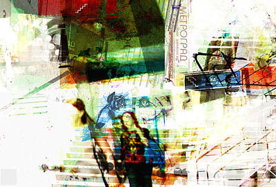 Luvgalz 3 Poster by Piotr Storoniak