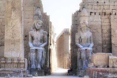 Luxor Temple - Egypt Poster