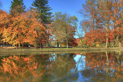 Poster featuring the photograph Lykens Glen Reflections by Lori Deiter