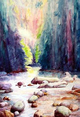 Lynn Creek Canyon Poster by David Sullins