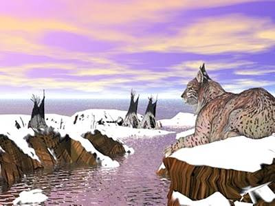 Lynx Watcher Render Poster