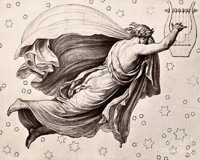 Lyre Of Orpheus Poster by Granger