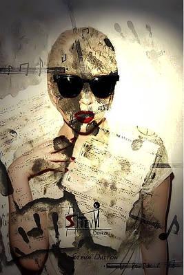 M. Gaga Poster