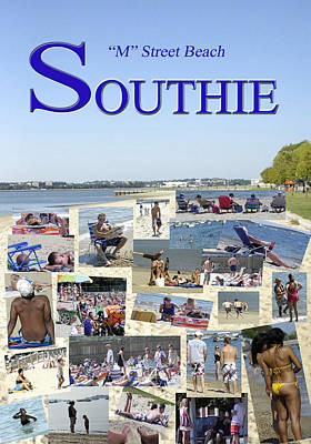 M Street Beach  Southie Poster
