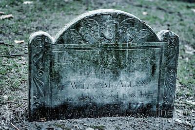 M. William Allen Poster by Tamyra Ayles