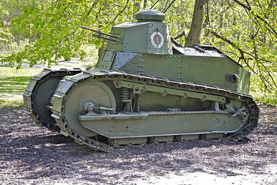 M1917 Tank Poster by Robert Joseph