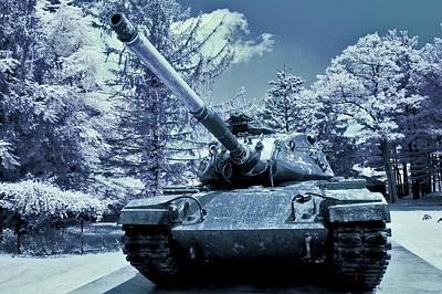 M60 Tank Us Army Poster by Dimitri Meimaris