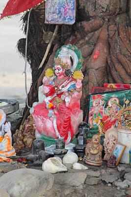 Ma Durga Tree Temple, Haridwar Poster by Jennifer Mazzucco