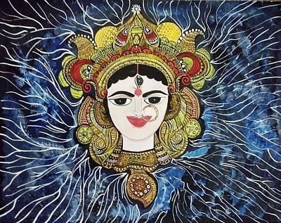 Maa Durga Poster by Archana Jha