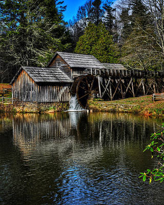 Mabry Mill  Poster by Steve Hurt