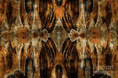 Mackerel Clouds Poster by Jolanta Anna Karolska