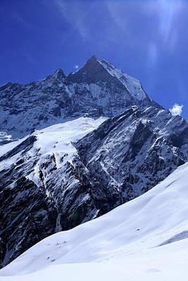 Machhapuchchhre The Himalaya Poster by Aidan Moran