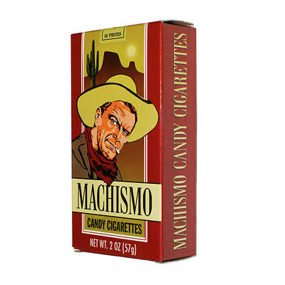 Machismo Candy Cigarettes Poster by Alessandra RC