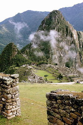 Machu Picchu In The Morning Light Poster