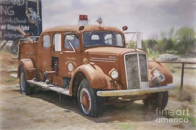 Mack Fire Truck  Poster
