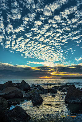 Poster featuring the photograph Mackerel Sky by Dan McGeorge