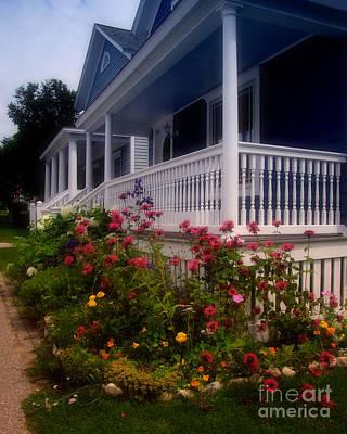 Mackinac Island Victorian Wildflower Garden Poster