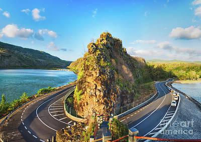 Maconde View Point. Mauritius. Panorama Poster
