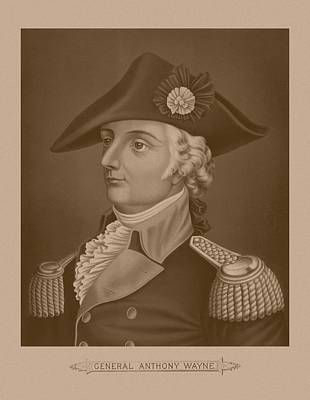 Mad Anthony Wayne Poster by War Is Hell Store