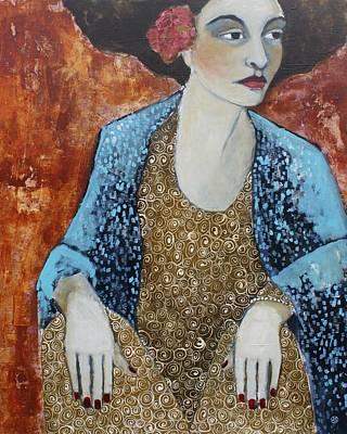 Madam Blue Poster