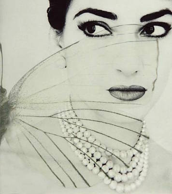 Madam Butterfly - Maria Callas  Poster